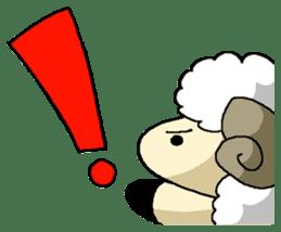 sheep sticker #1151909