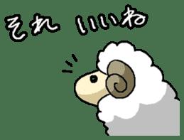 sheep sticker #1151921