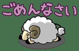sheep sticker #1151924
