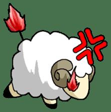 sheep sticker #1151929
