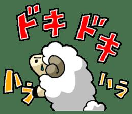 sheep sticker #1151942
