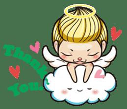 1004 My little angel sticker #1152186