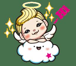 1004 My little angel sticker #1152187
