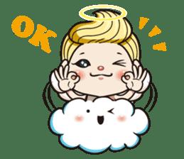 1004 My little angel sticker #1152188