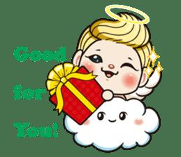 1004 My little angel sticker #1152190
