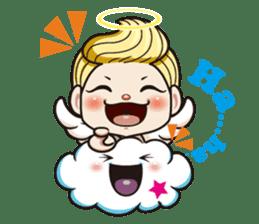 1004 My little angel sticker #1152191