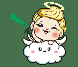 1004 My little angel sticker #1152193