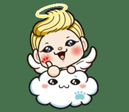 1004 My little angel sticker #1152194