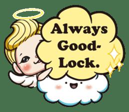 1004 My little angel sticker #1152197