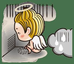 1004 My little angel sticker #1152201