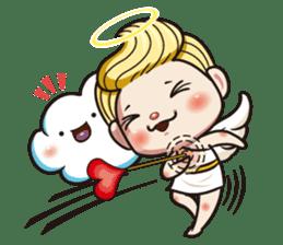 1004 My little angel sticker #1152202