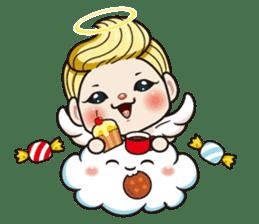 1004 My little angel sticker #1152203