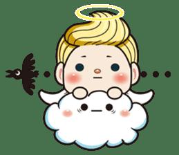 1004 My little angel sticker #1152205