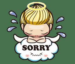 1004 My little angel sticker #1152206