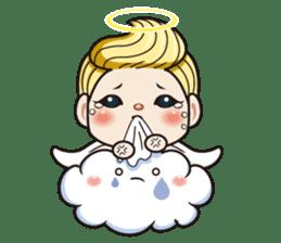 1004 My little angel sticker #1152207