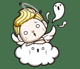 1004 My little angel sticker #1152209