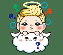 1004 My little angel sticker #1152210