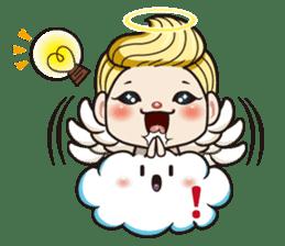 1004 My little angel sticker #1152211