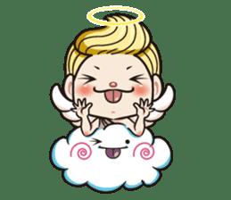 1004 My little angel sticker #1152212
