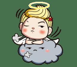 1004 My little angel sticker #1152213