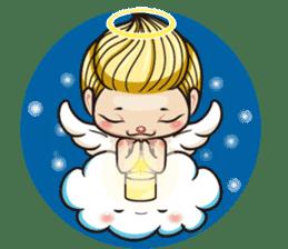 1004 My little angel sticker #1152214
