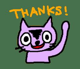 Smile Cat Sticker sticker #1152468