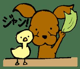 Scarf Minipin festival! sticker #1152912