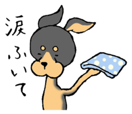 Scarf Minipin festival! sticker #1152929