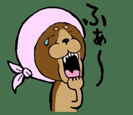 Scarf Minipin festival! sticker #1152934