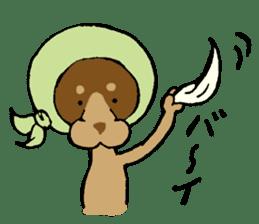 Scarf Minipin festival! sticker #1152944