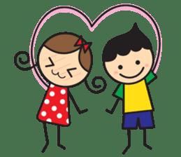 Mr. Garlic in love sticker #1153056