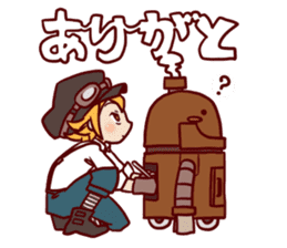 steampunk sticker #1153071