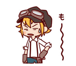 steampunk sticker #1153078