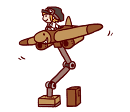 steampunk sticker #1153081
