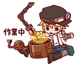 steampunk sticker #1153092