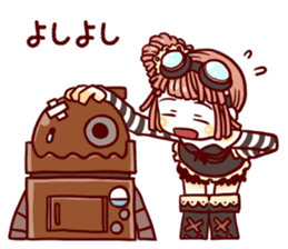 steampunk sticker #1153094