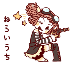 steampunk sticker #1153105