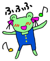 Chi-chan of frog Japanese version sticker #1153468