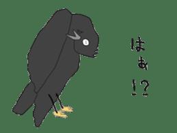 Poppo the crow sticker #1154037