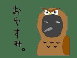 Poppo the crow sticker #1154048