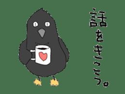 Poppo the crow sticker #1154059