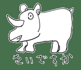 animal sticker sticker #1154319