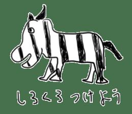 animal sticker sticker #1154322