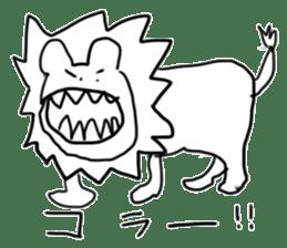 animal sticker sticker #1154324