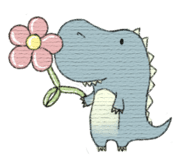 Pudding The Dinosaur sticker #1154666