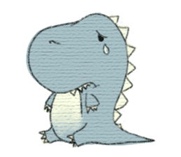 Pudding The Dinosaur sticker #1154667