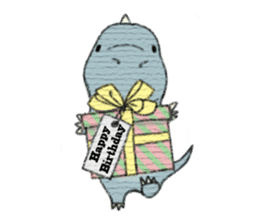 Pudding The Dinosaur sticker #1154683