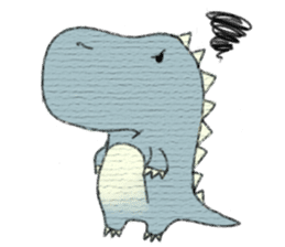 Pudding The Dinosaur sticker #1154686