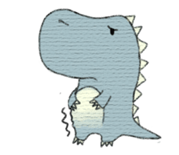 Pudding The Dinosaur sticker #1154691