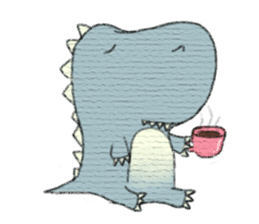 Pudding The Dinosaur sticker #1154699
